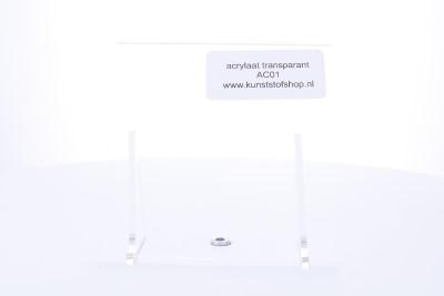 acrylaat plaat transparant  2000x1000x12mm