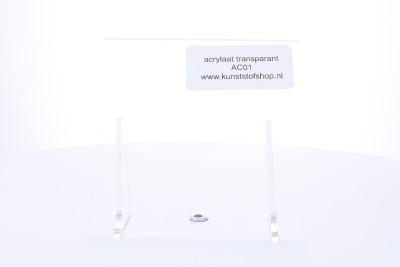 acrylaat plaat transparant  2000x1000x15mm