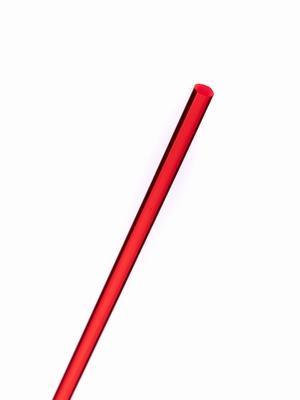 Acrylaat rond staf fluor rood 1000x10mm