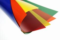 PVC folie rood mat