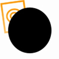 POM staf zwart