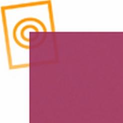 Zacht pvc paars transparant-mat 0,5mm