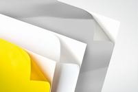 PVC zelfklevende folie geel