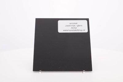 Acrylaat plaat zwart mat/glans AC52