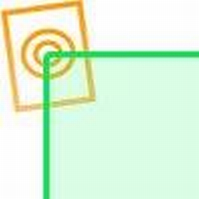 Acrylaat vierkant staf fluor groen 1000x40x40mm