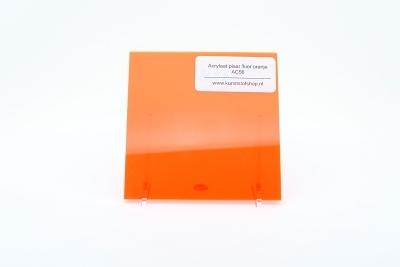 Acrylaat plaat fluor oranje AC56
