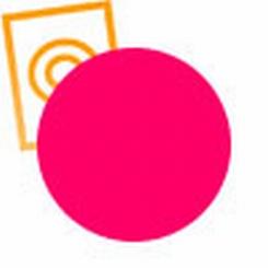 3D Filament PLA pink D: 3 mm  D:3mm