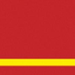 Graveerplaat rood-geel