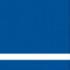 Graveerplaat blauw-wit