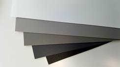 Polypropeen folie A4 grijs tinten set