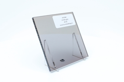 acrylic sheet transparent smoke grey  2000x1000x5,0mm