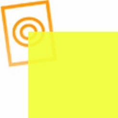 PVC folie transparant licht geel E100