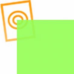 PVC folie transparant lime groen E088
