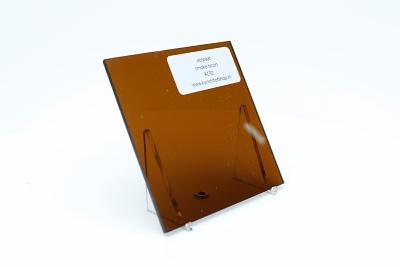 Acrylaat plaat smoke/rookbruin AC92