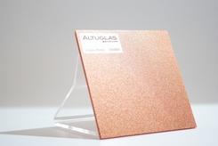 Acrylaat plaat metallic brons AC9007