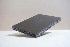 PE en PS recycle plaat zwart PE toplaag