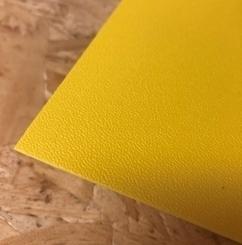 Terranyl® bioplastic plaat geel