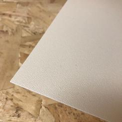 Terranyl® bioplastic plaat wit
