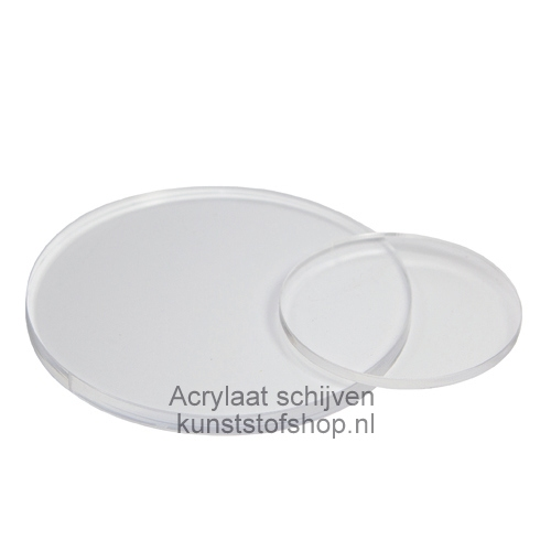 Acrylaat schijf D: 20 mm
