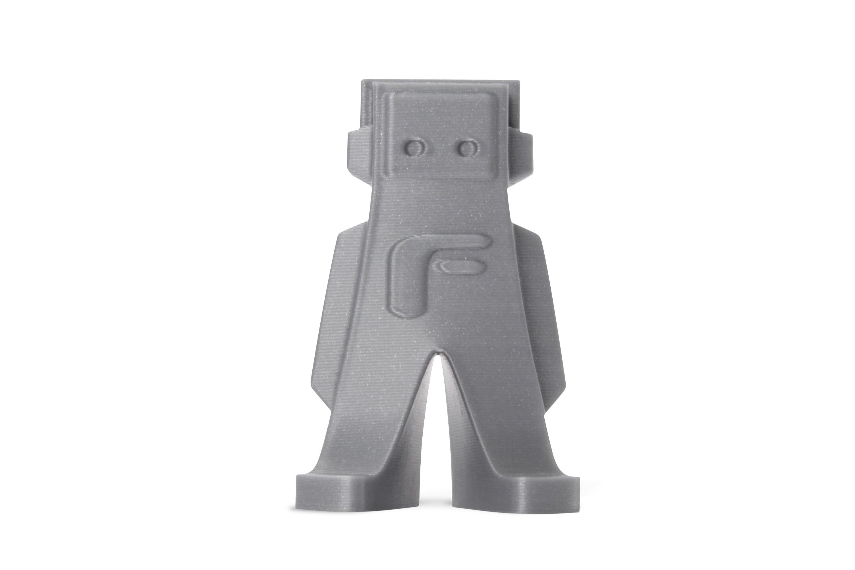 3D Print Filament form futura ABS zilvergrijs-metallic look