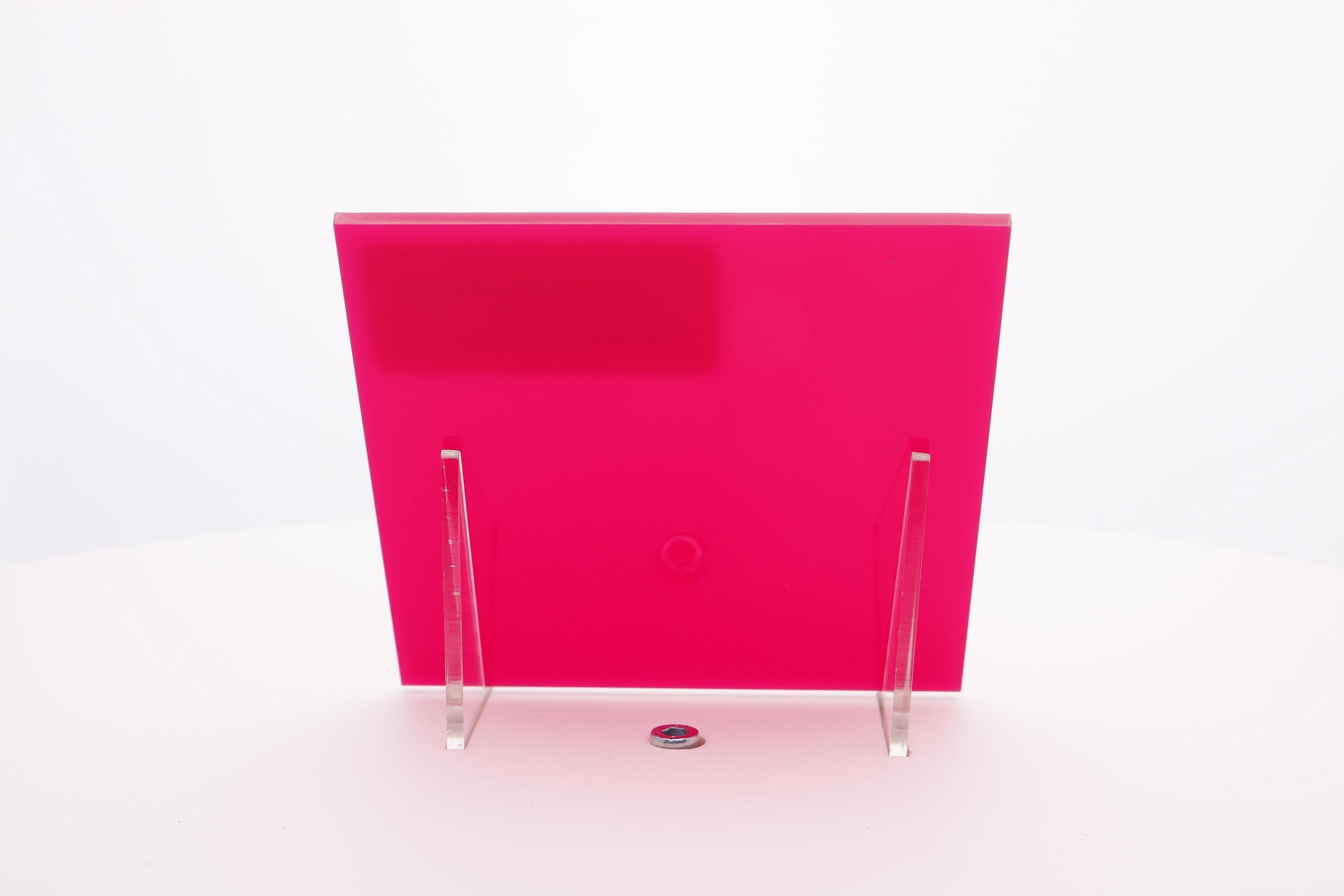 Acrylaat plaat fuschia rood/roze AC 17