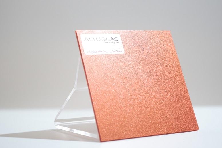 Acrylaat plaat metallic koper  AC9006