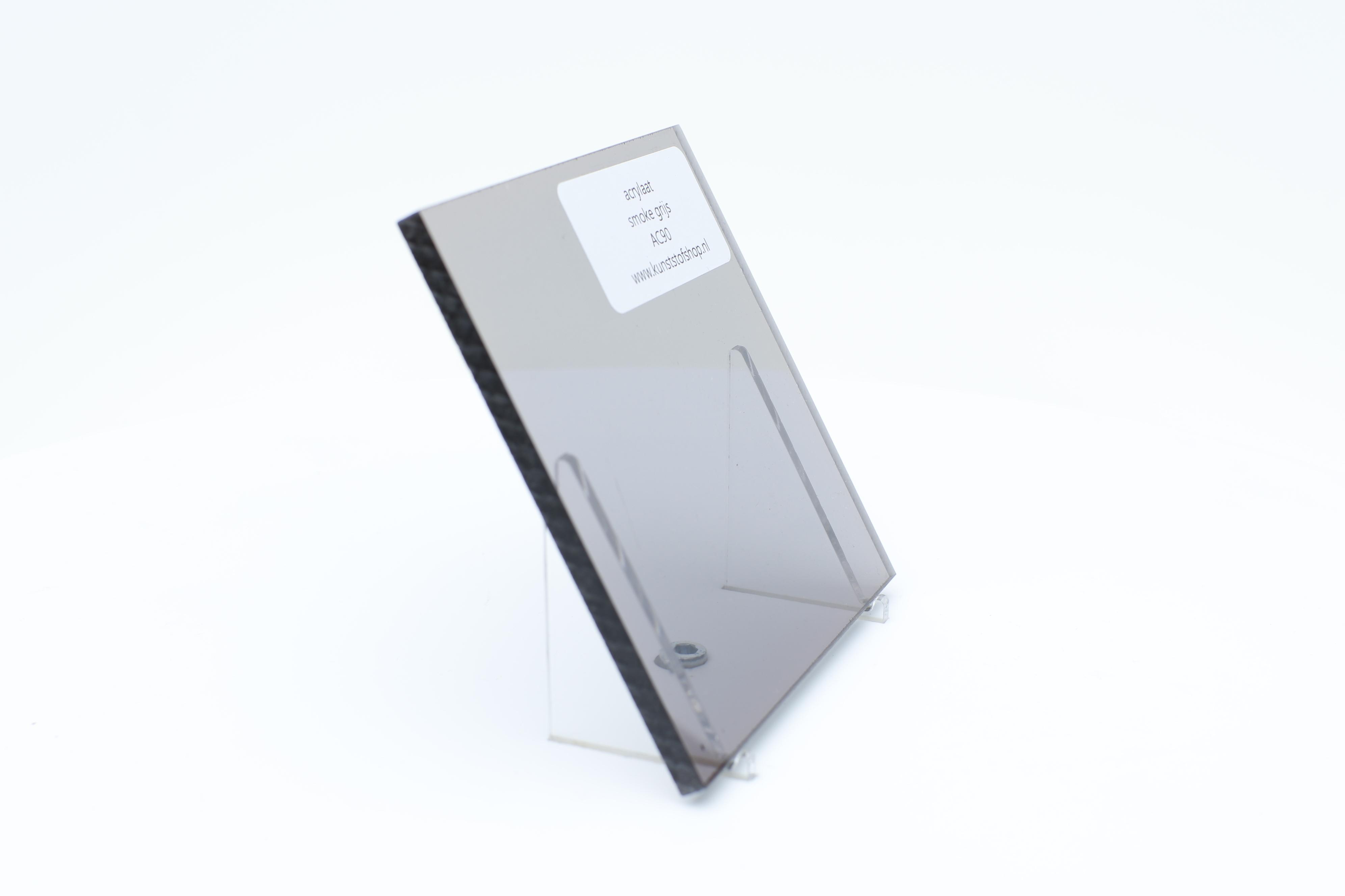 Acrylaat plaat smoke/rookgrijs AC90