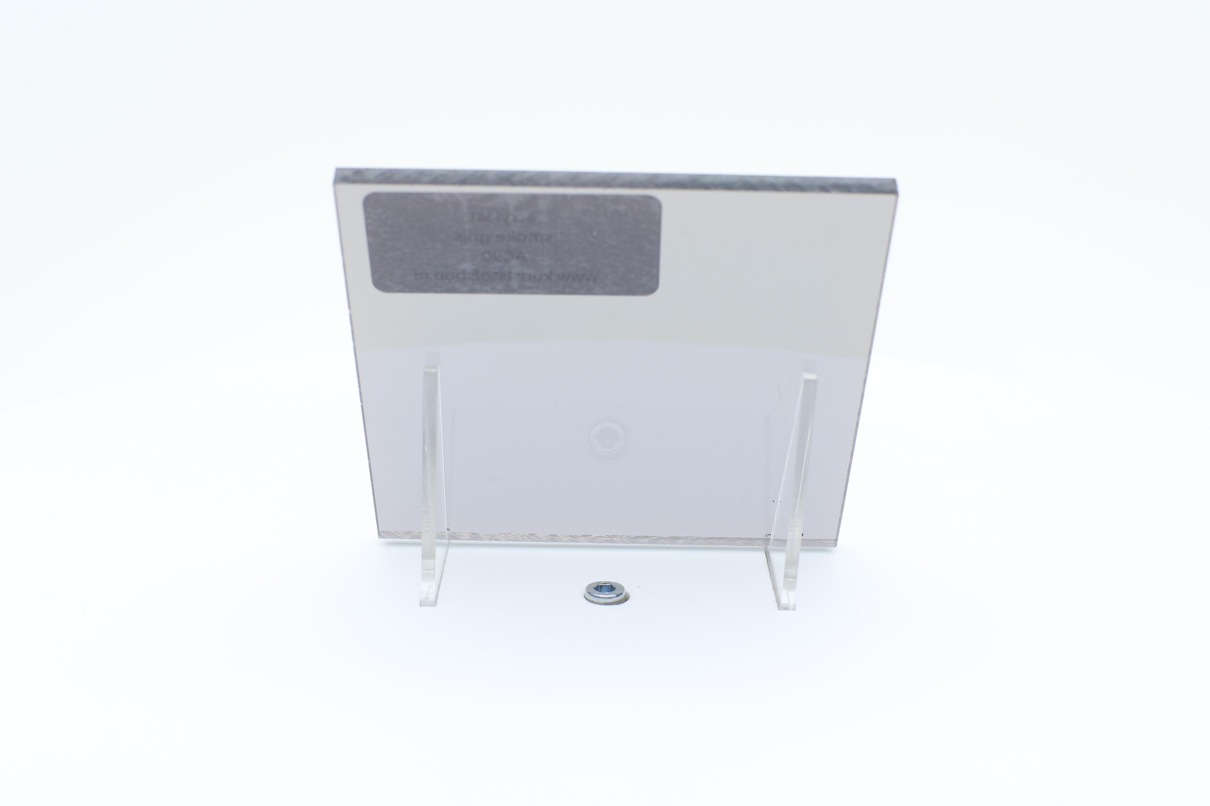 Acrylaat plaat smoke/rookgrijs
