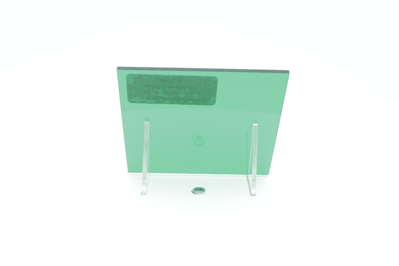 Acrylaat plaat transparant groen AC22
