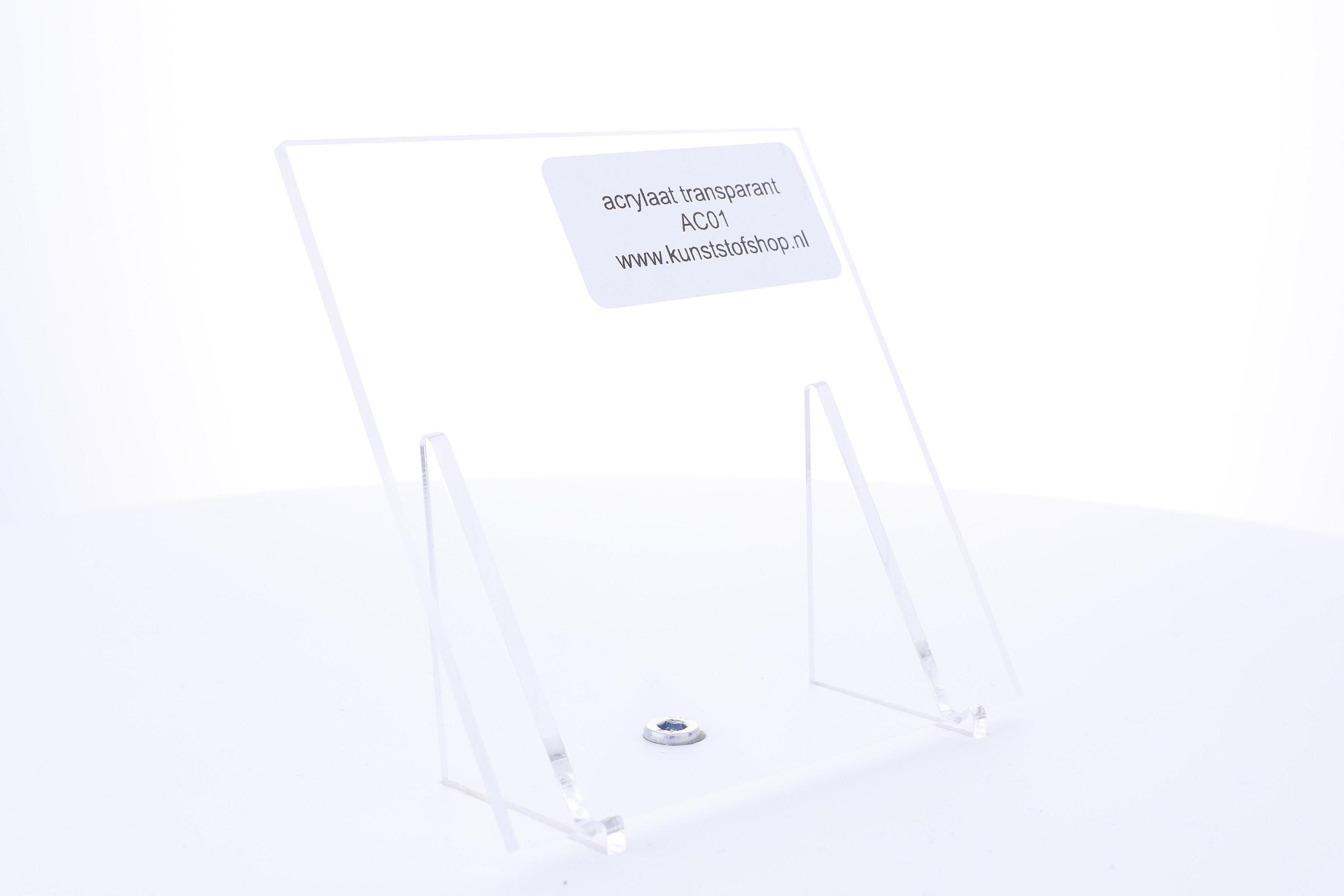 Acrylaat plaat transparant xt  6,0 mm