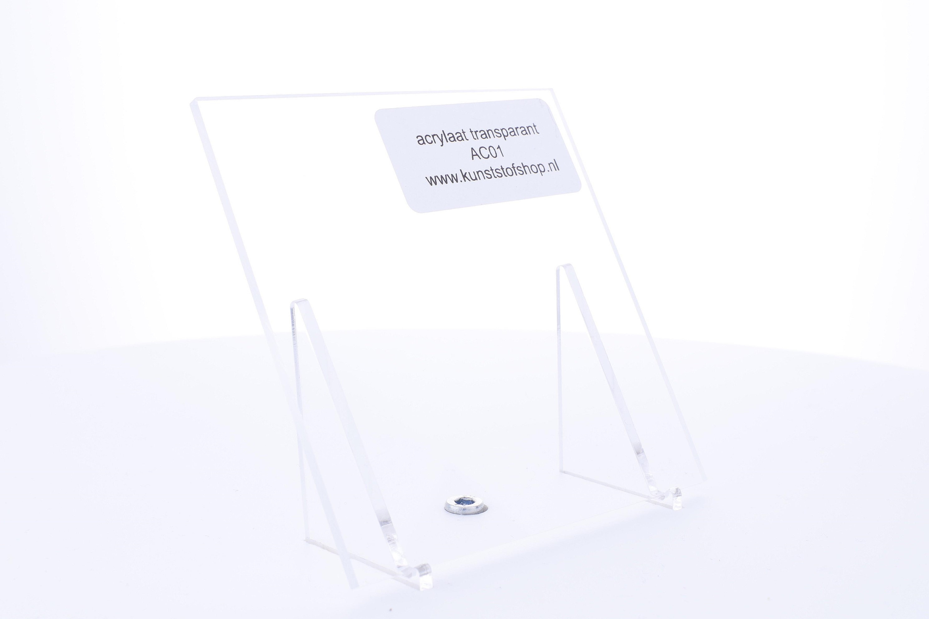 Acrylaat plaat transparant xt 10,0 mm
