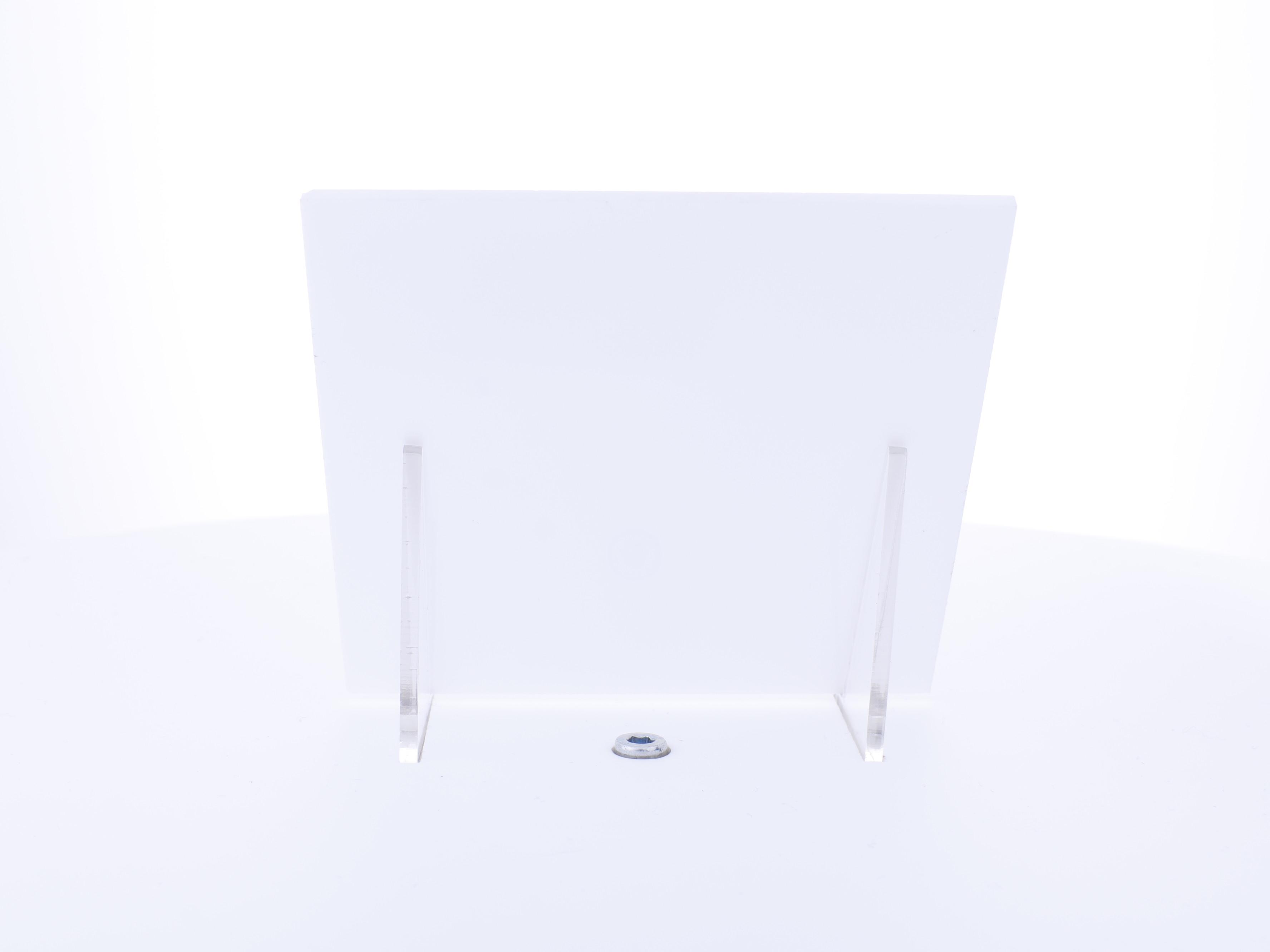 Acrylaat plaat wit mat-glans AC66