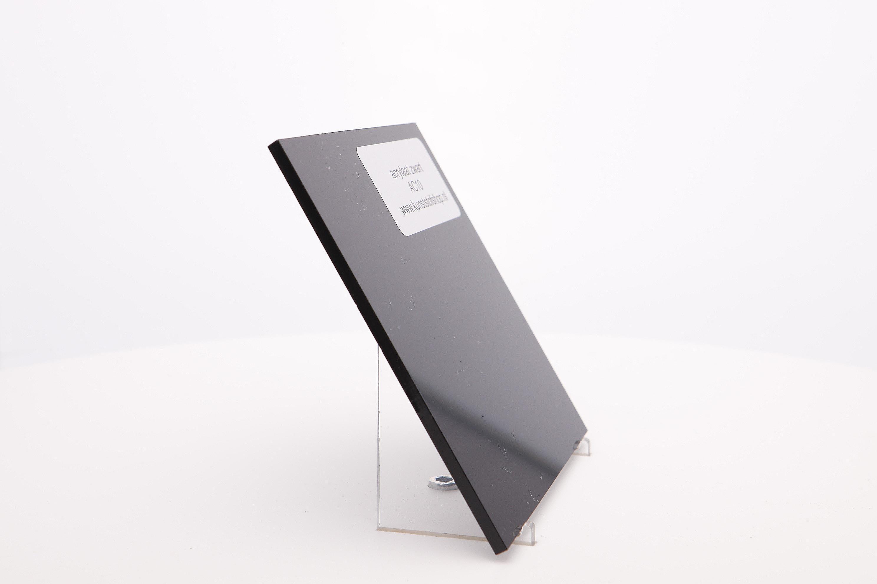 Acrylaat plaat zwart AC10