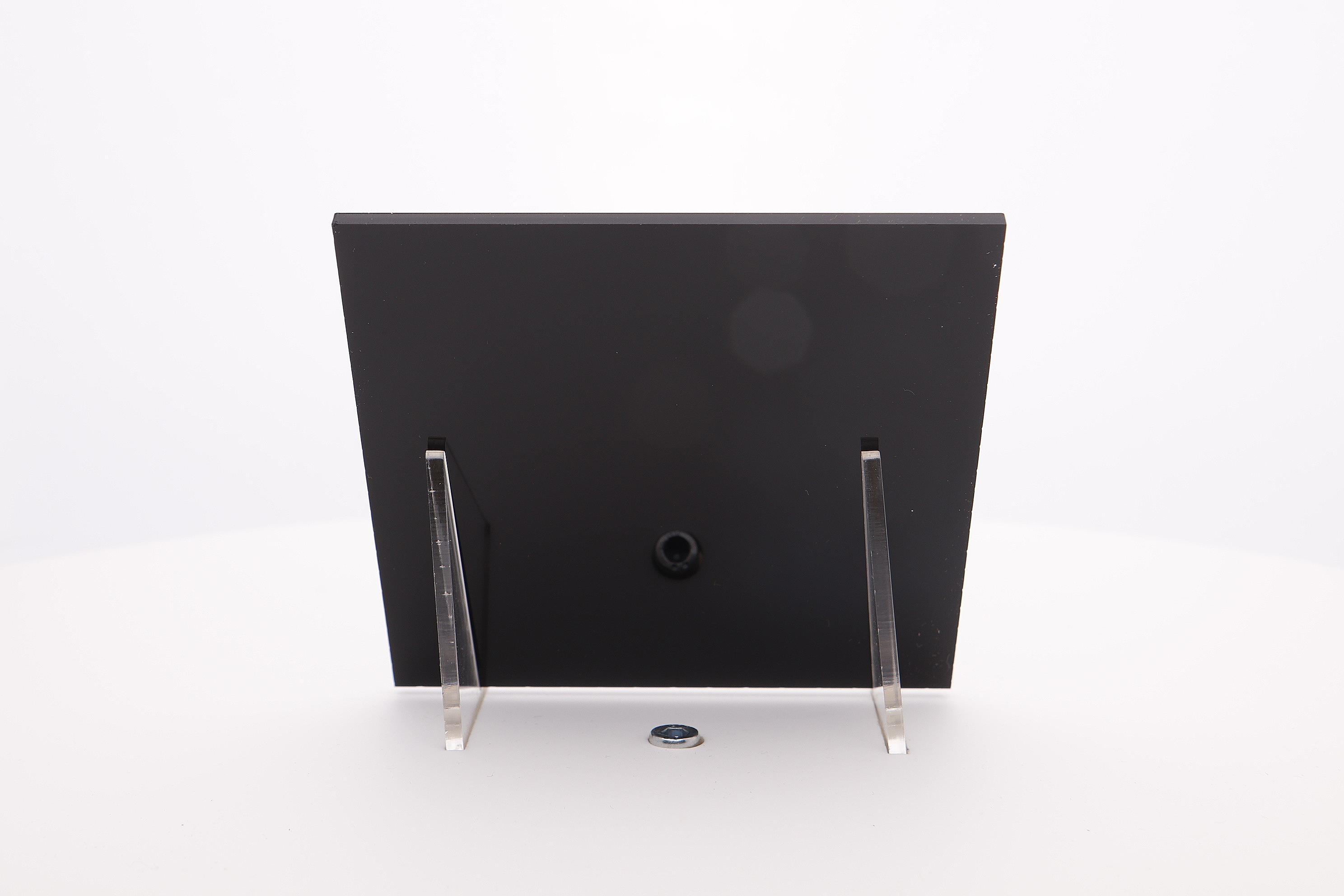Acrylaat plaat zwart AC52mat/glans