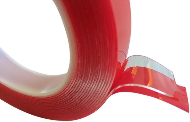 Acrylaat tape transparant dubbelzijdig