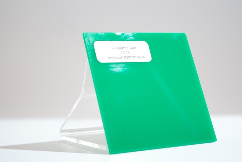 Monster acrylaat groen AC14