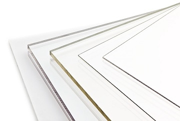 Polycarbonaat plaat transparant  8,0 mm