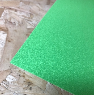 Terranyl® bioplastic plaat groen