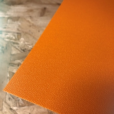 Terranyl® bioplastic plaat oranje