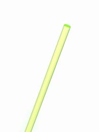Acrylaat rond staf fluor groen 1000x6mm