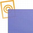pvc soft kobalt blue 1350 mm
