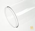 acrylaat deksel voor buis D:60/2 mm D: 60 mm
