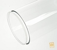 acrylaat deksel voor buis D:110/3 mm D: 110 mm