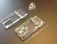 Acrylaat slot transparant