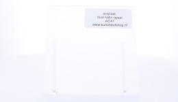 Acrylaat plaat transparant opaal mat/mat AC41