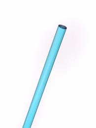 Acrylaat rond staf transparant aqua blauw 1000x4mm