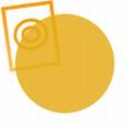Acrylaat rond staf transparant oranje 1000x6mm