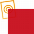 pvc folie transparant donker rood 1220x530x0,10mm