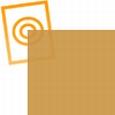 Zacht pvc goud look een zijde glans een zijde mat 0,35mm