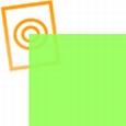 pvc folie transparant lichtgroen  297x210x0,10mm